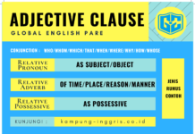 adjective clause